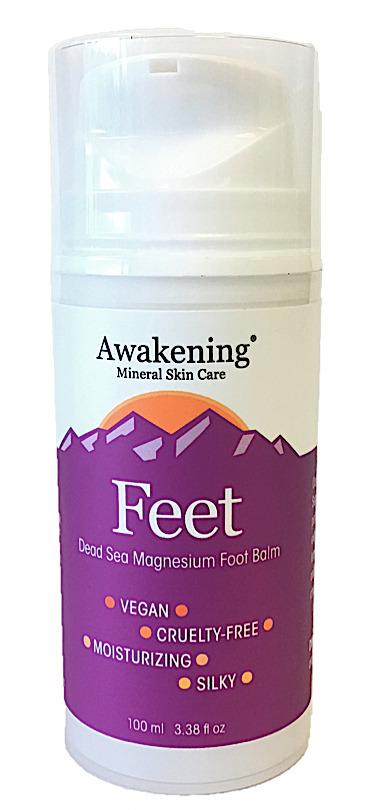 Awakening Mineral Skin Care hand cream dry skin itcy skin